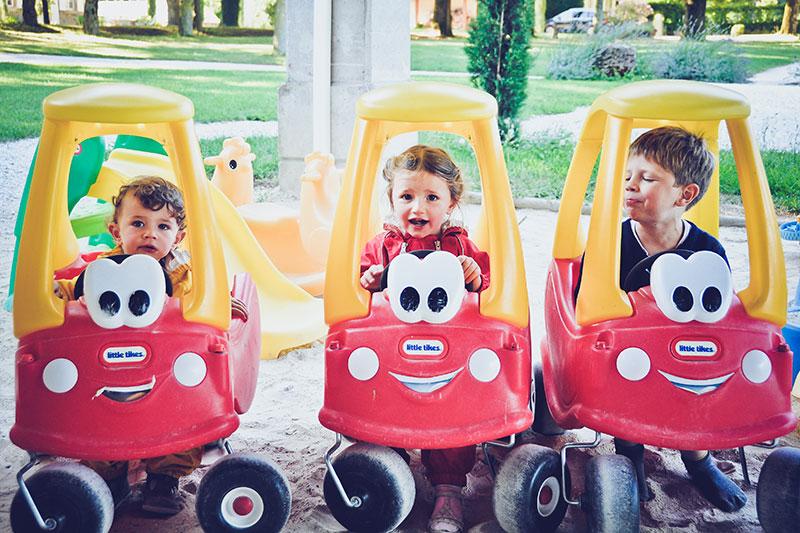 Domaine de Vincenti | Mini voitures d'enfants