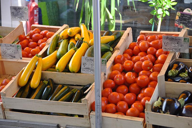 Domaine de Vincenti | Fruits et légumes