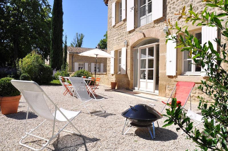 Domaine de Vincenti | La Forge - Terrasse