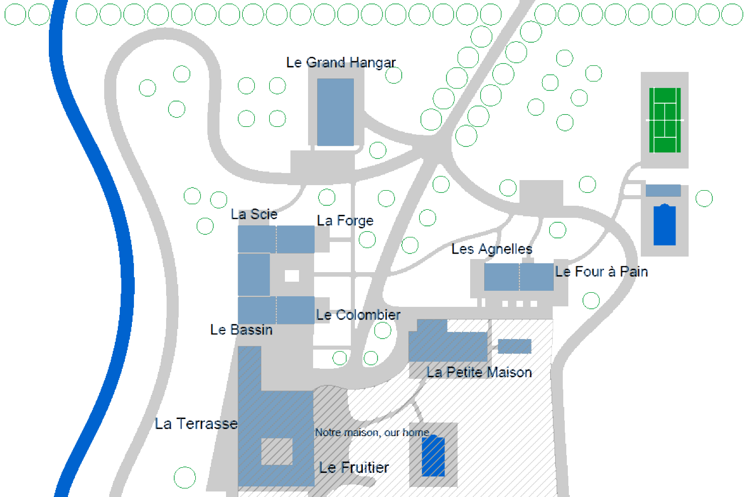 Domaine de Vincenti | Plan