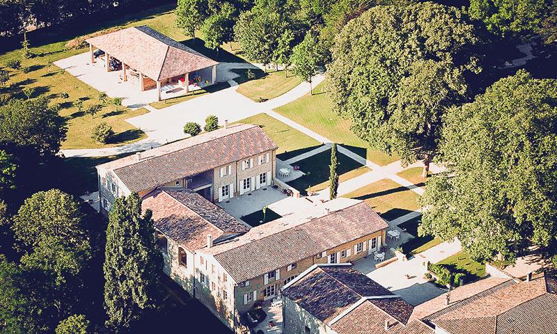 Domaine de Vincenti | Vue aérienne des gîtes